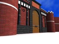 3d yemen gate