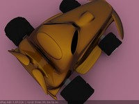 3d x toy car
