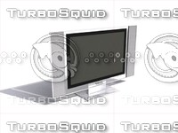 large plasma tv 3d max