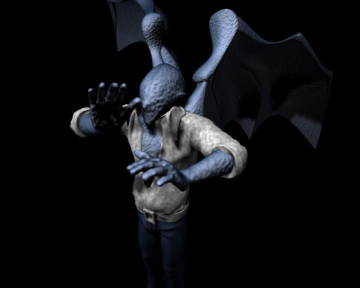 maya vampire wings