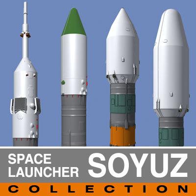 space soyuz spacecraft 3ds