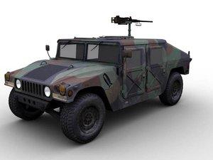 m1025 armament carrier hmmwv 3d max