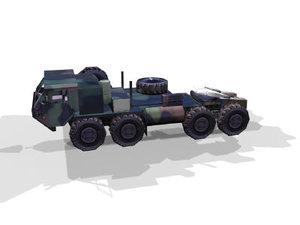 3d model osh-kosh openflight carrier