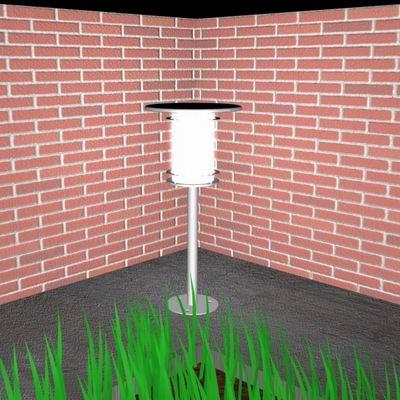 garden light 3d max