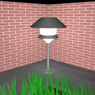 garden light 3d 3ds