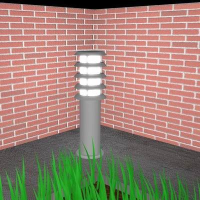garden light 3d model