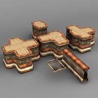 Walls building blocks
