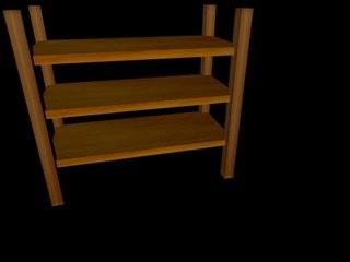 free obj mode shelf