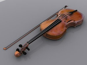 violin string 3d model