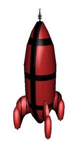rocket pack c 3d model