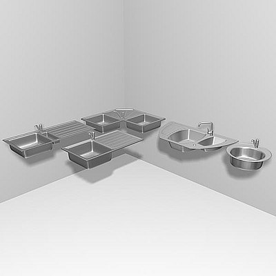 3d washing kitchen
