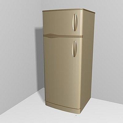 3ds max refrigerator kitchen