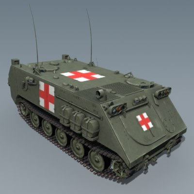 m113 ambulance max