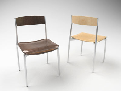 baba chair 3d model