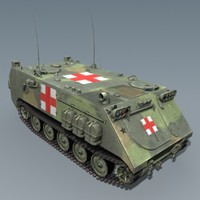 M113ambulance - max7 3ds