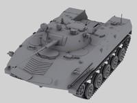 russian bmd 3d model