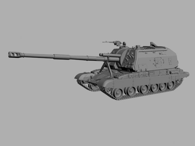 3ds max russian mtsa tank