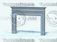 Limestone Fireplace D