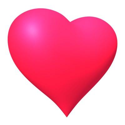3d perfect heart model