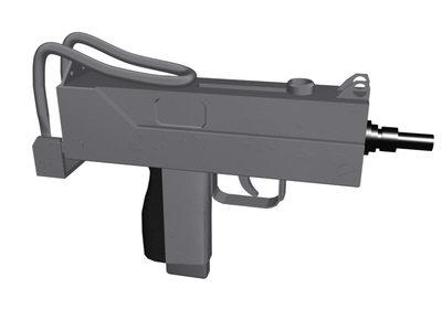 gun ingram 3d max