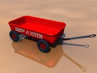 3d model radio flyer bryce