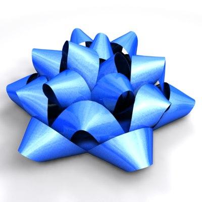 ribbons bows 3d c4d