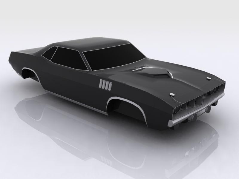 free max mode cuda car modelling