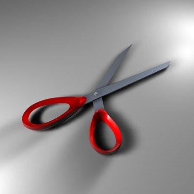 scissors dxf