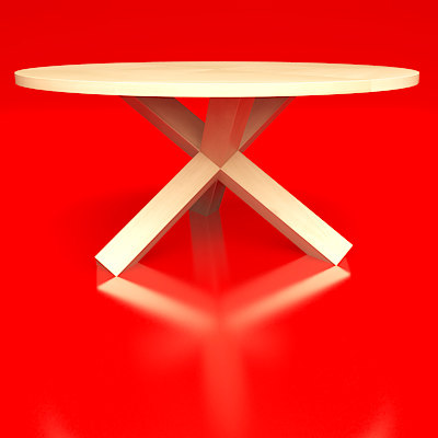 free larotonda table 3d model