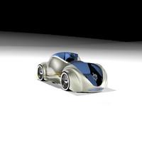 car petra 3d model