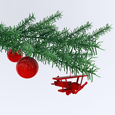 3ds max christmas decoration