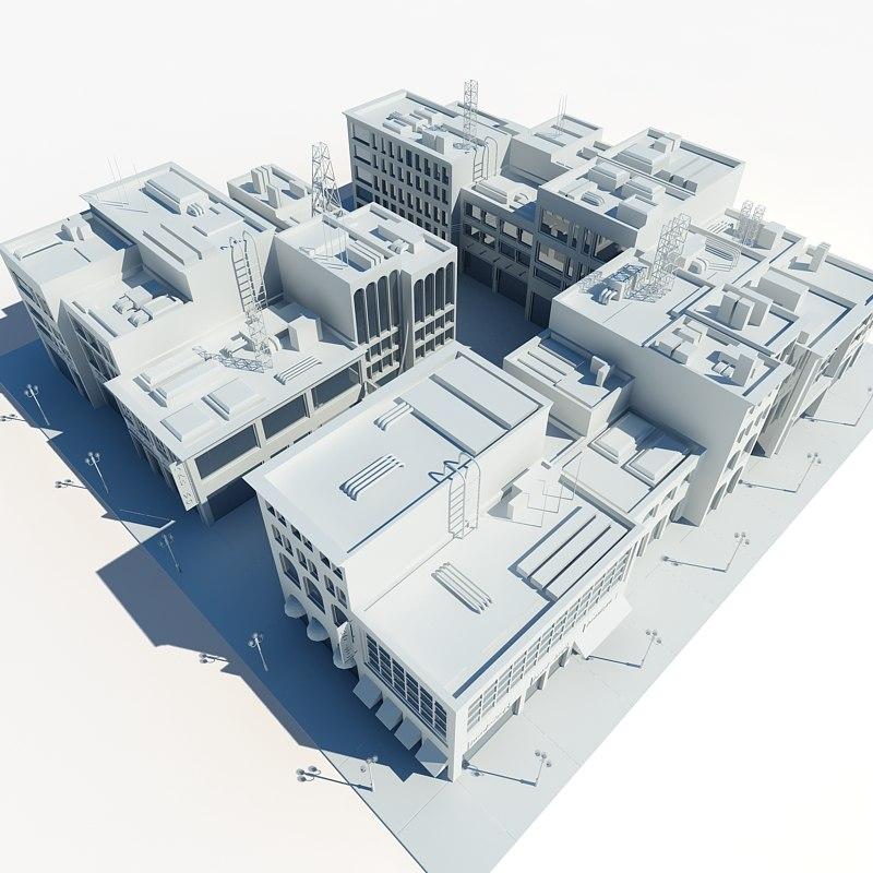 city block 3ds