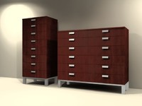 3d bedroom chest drawers