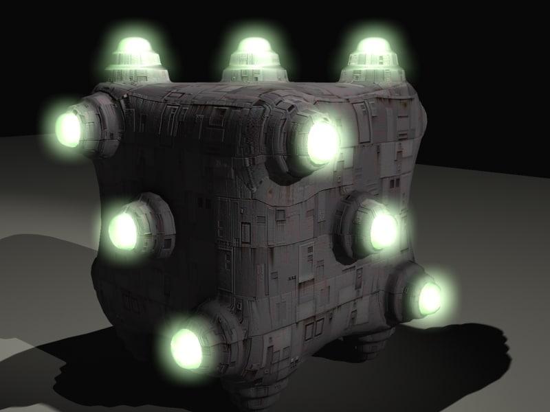 free 3ds model spacecraft spaceship