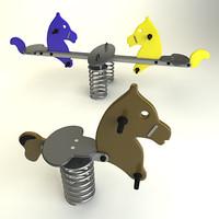 swing toy 3d model