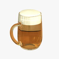 Beer Glass (Stein) 6