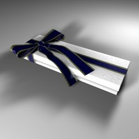 present gift box 3d c4d