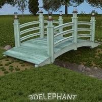 3d garden bridge