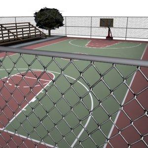 3d model urban court