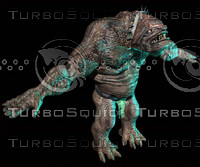 troll monster 3d model