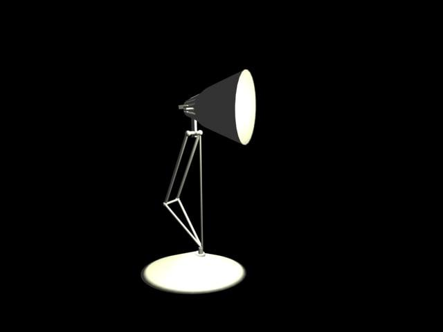 3d model pixar lamp