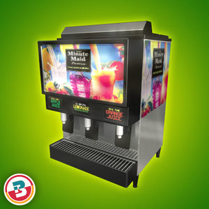 3d juice machine