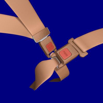 3d seatbelts belts