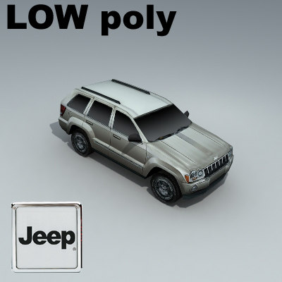 jeep grand cherokee 3d 3ds