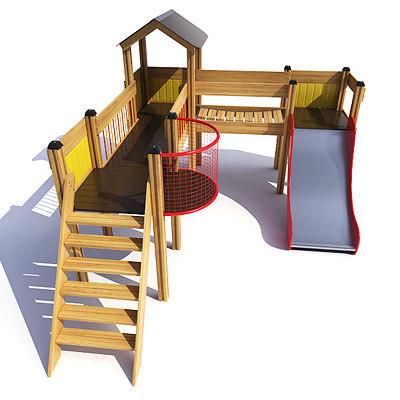 3dsmax forteress playground