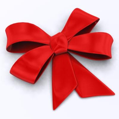 maya red bow