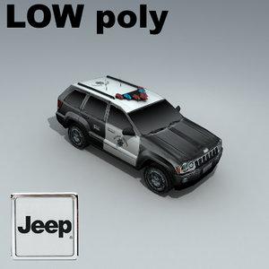 jeep grand cherokee 3d max