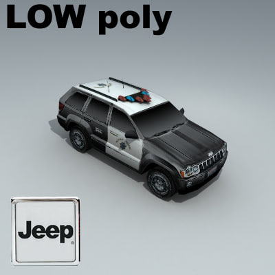 jeep grand cherokee 3d max