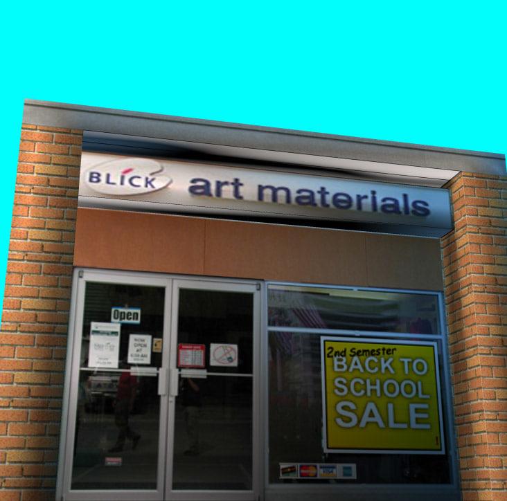 3d dick art store model