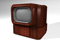 EARLY MODEL TV NON-TEXTURED.c4d
